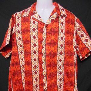 ALFRED SHAHEEN Vtg 50s/60s Hawaiian Aloha Shirt